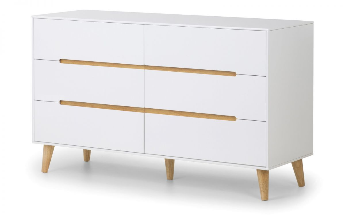 Image of Alicia 6 Drawer Wide Chest