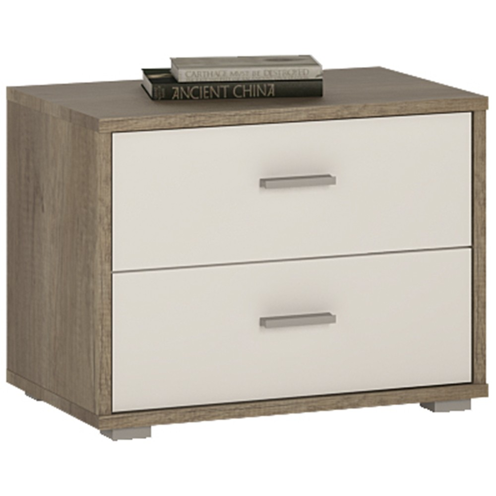 4 You 2 Drawer Low Chest/Bedside