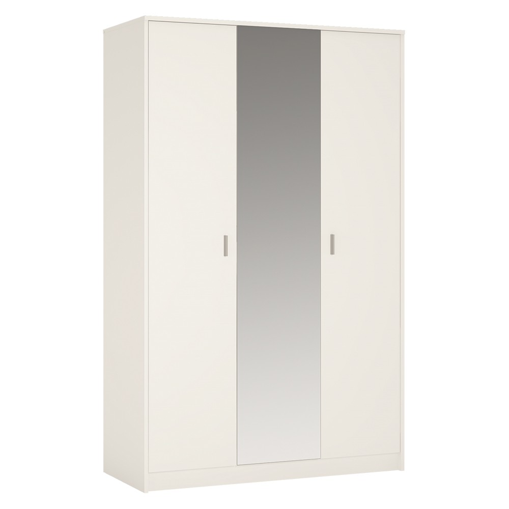 4 You 3 Door Wardrobe (Inc Mirror)