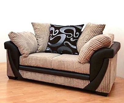 Lush 2 Seater Fabric Hand Crafted Sofa