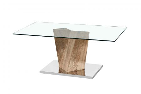 Alleo Coffee Table Marble Effect Base