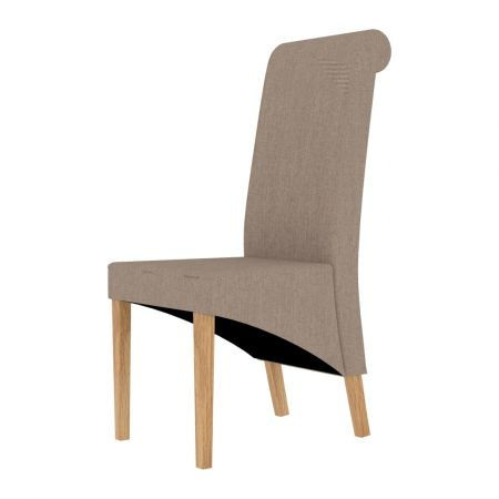 Glasgow Dining Chair Beige (Pack of 2)