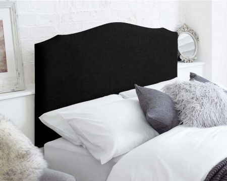 Selby Headboard Malham Weave Fabric Handcrafted in the UK Available in All Sizes