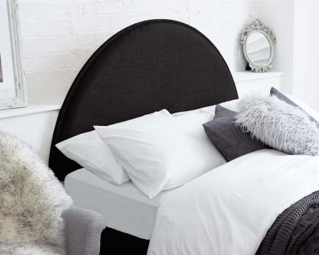 Lilly Headboard Malham Weave Fabric Handcrafted in the UK Available in All Sizes
