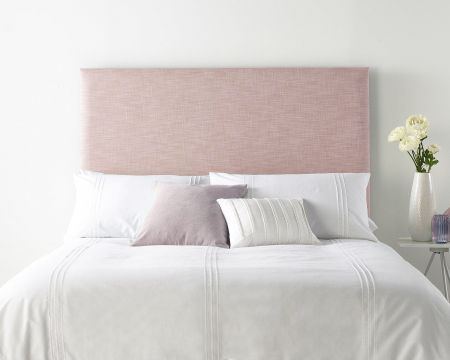 Catherine Lansfield Pure Cotton Collection Headboard Pure Pastel Cotton Handcrafted in the UK Available in All Sizes
