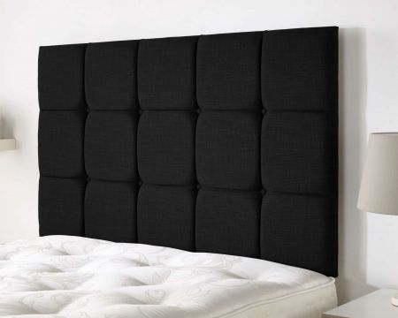 Jemima Headboard Malham Weave Fabric Handcrafted in the UK Available in All Sizes