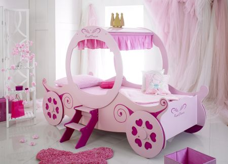 Daisy Princess Carriage Bed Frame