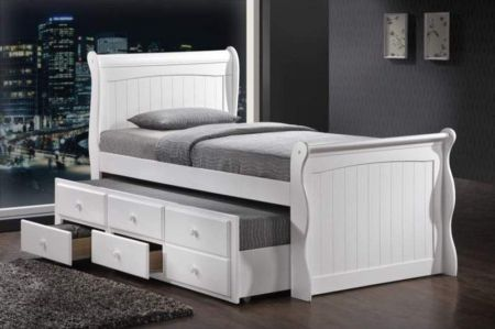 Captain Try Kids Bed - Single