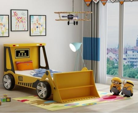 Tractor Kids Bed