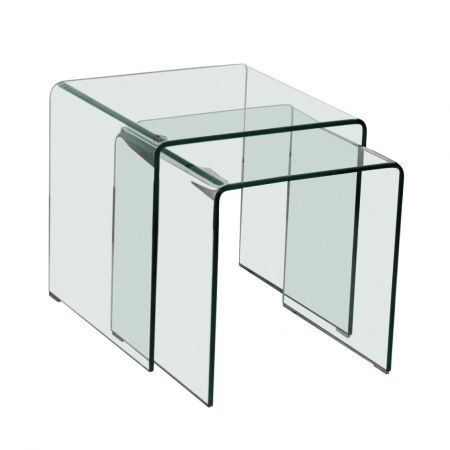 Inverness Nest Of 2 Tables Glass