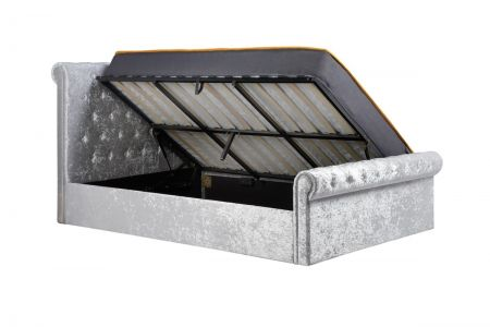Paige Side Ottoman Bed