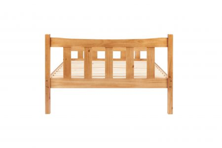 Leah Wooden Bed