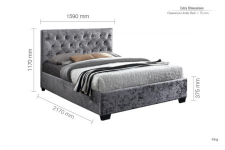 Charles Fabric Bed