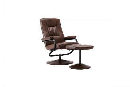Lauren Swivel Chair and Footstool