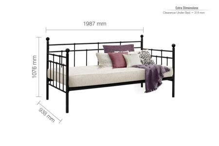 Joshua Steel Daybed