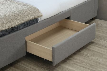 James Fabric Bed