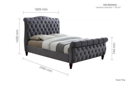 Charlie Fabric Bed