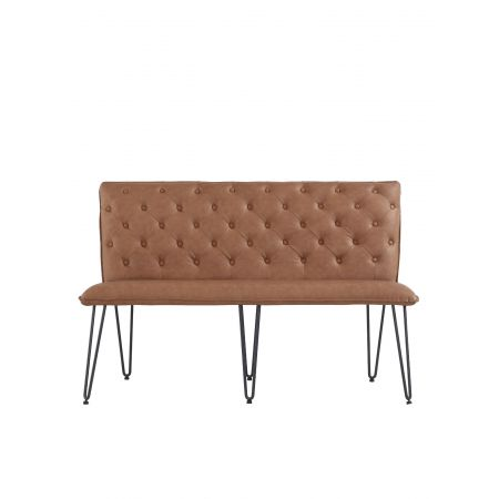 Criten Studded Back Bench 140cm