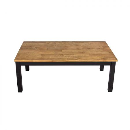 Chile Coffee Table Black Frame-Oiled Wood