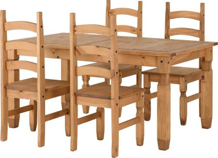 Coroso Extending Dining Set(4 Chairs)