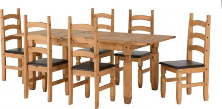 Coroso Extending Dining Set(6 Chairs)