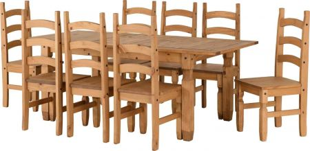 Coroso Extending Dining Set(8 Chairs)