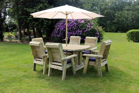 Erling 6 Seat Table Set 6xc