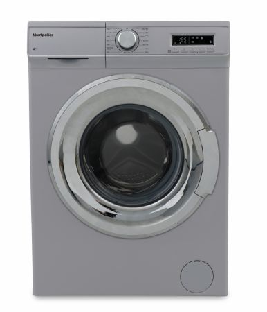 Montpellier Silver 7kg 1400 Spin Washing Machine