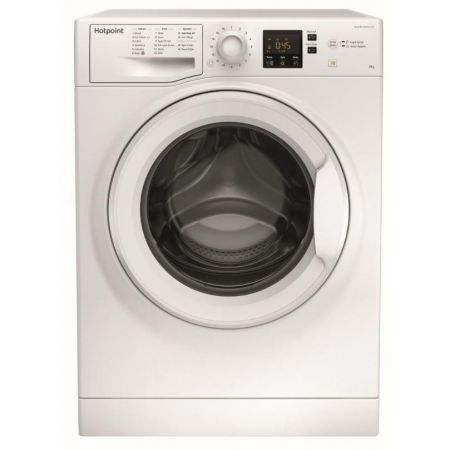Hotpoint White 8kg 1400 Spin Washing Machine
