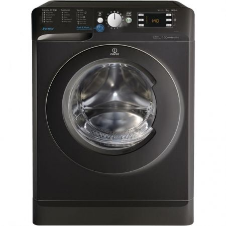 Indesix Innex Black 9kg 1400 Spin Washing Machine