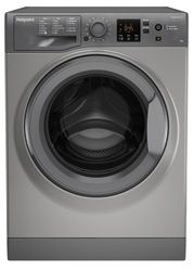 Hotpoint Graphite 9kg 1400 Spin Washing Machine