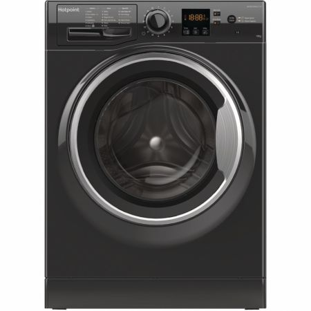Hotpoint Black 10kg 1400 Spin Washing Machine