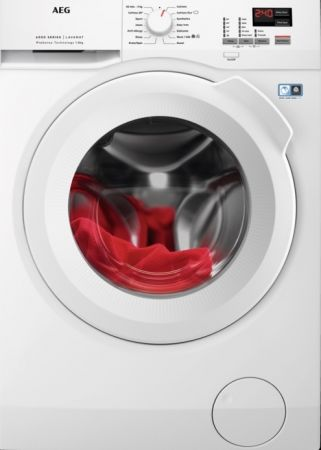 Aeg White 8kg 14000 Spin 6000 Series Washing Machine