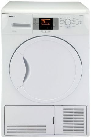 Beko White 8kg Dry And Save Condenser Tumble Dryer