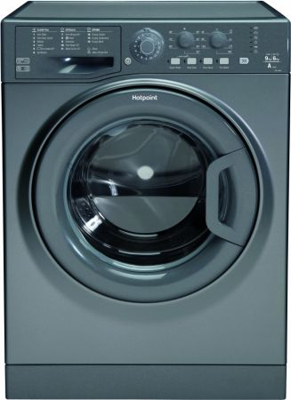 Hotpoint Graphite 9kg Washer Dryer With 6kg Dry Load
