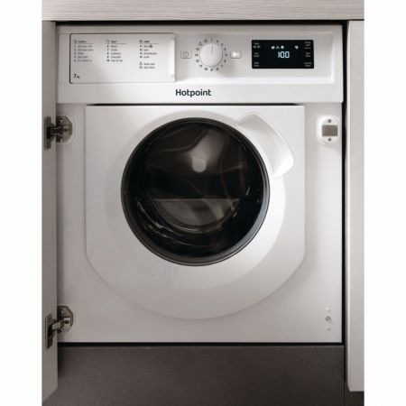 Hotpoint 7kg 1400 Spin Integrated Washing Machine