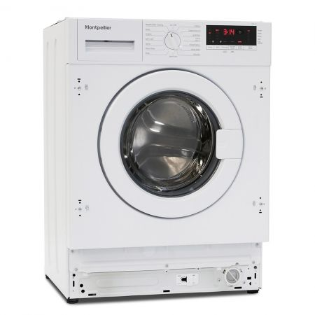Montpellier 7kg 1200 Spin Integrated Washing Machine