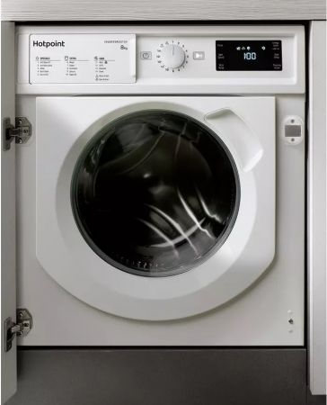 Hotpoint 8kg 1400 Integrated Washing Machine