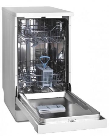 Montpellier White Slimline Dishwasher