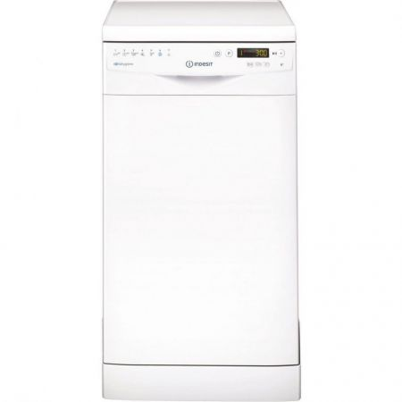 Indesit White Extra Babycare Slimline Dishwasher