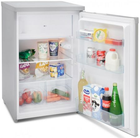 Iceking Silver 55cm Wide Fridge With 4* Icebox