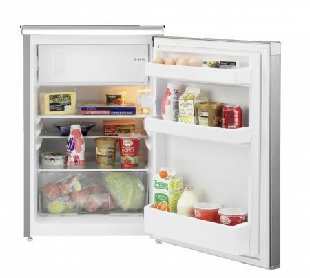 Beko Silver Under Counter Fridge With Icebox