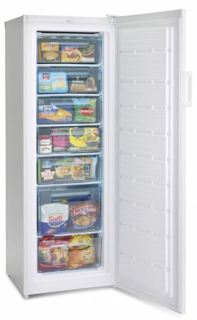Iceking White 170cm Tall Freezer