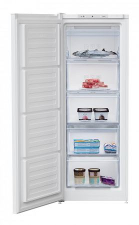 Beko White 145cm Tall Frost Free Freezer