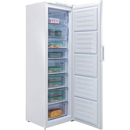 Beko White 180cm Tall Frost Free Freezer