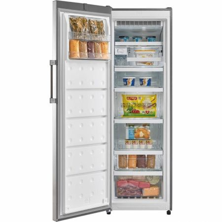 Hoover Stainless Steel 186cm Tall Frost Free Freezer