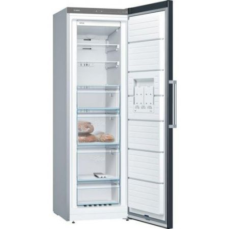 Bosch Black No Frost Upright Freezer