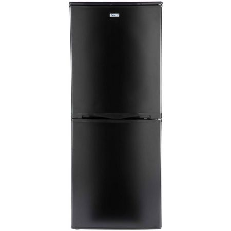 Lec 50cm Wide Black Fridge Freezer