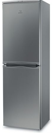 Indesit Silver 174cm Tall Fridge Freezer