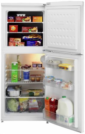 Beko White Static Top Mount Fridge Freezer
